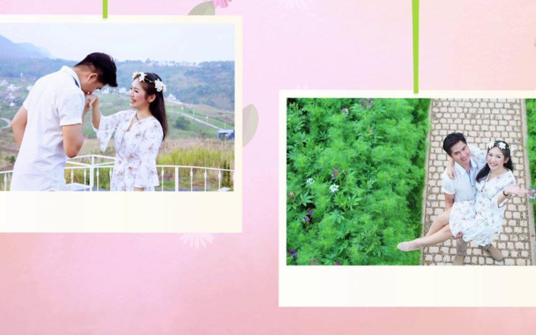 ตัวอย่างผลงาน คุณ Tak & คุณ Aek